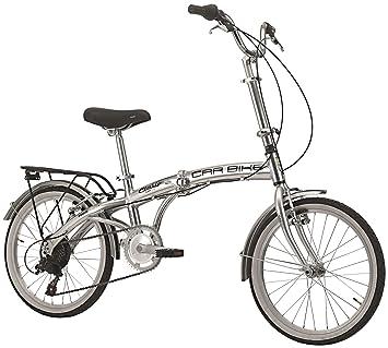 Bicicleta plegable ciclos Cinzia Car Bike Aluminium, estructura de aluminio, cambio 6 velocidades