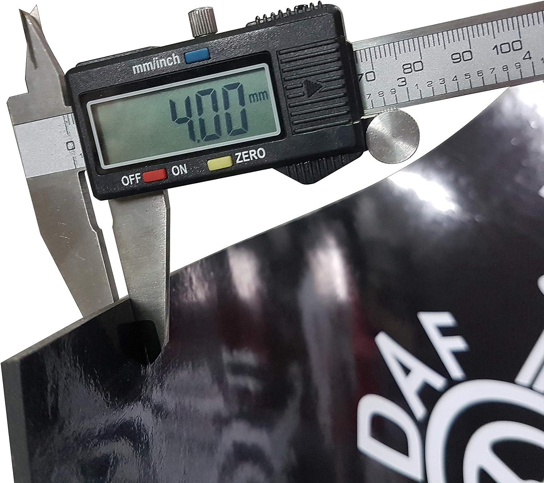 Schmutzfänger Aus Gummi Strapazierfähig Mit Aufschrift Für Lkw Anhänger Altes Logo 240 X 35 Cm 1 Stück Auto