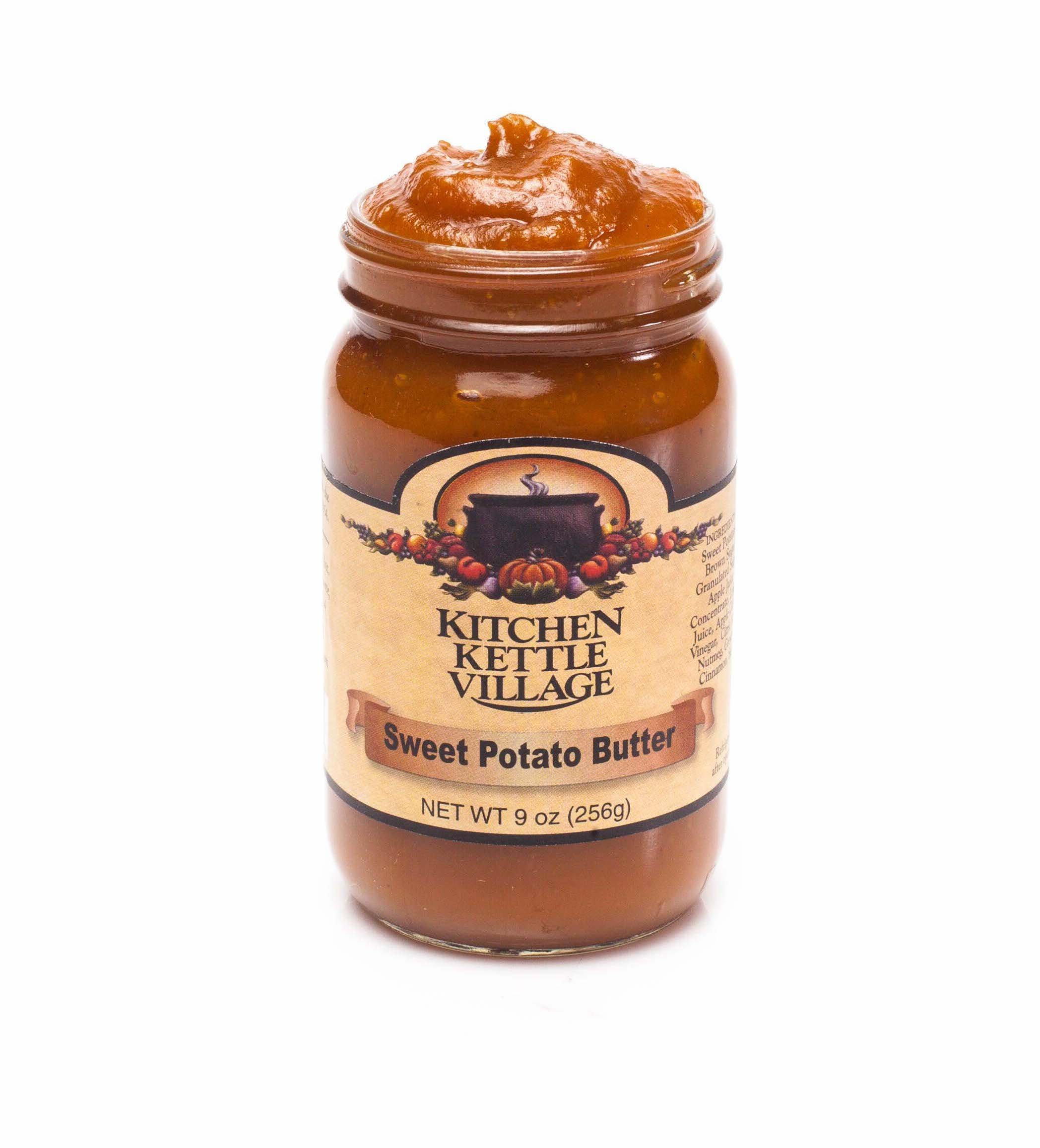 Kitchen Kettle Village Sweet Potato Butter, (Amish Made), 9 Ounce Jars (Pack of 2)