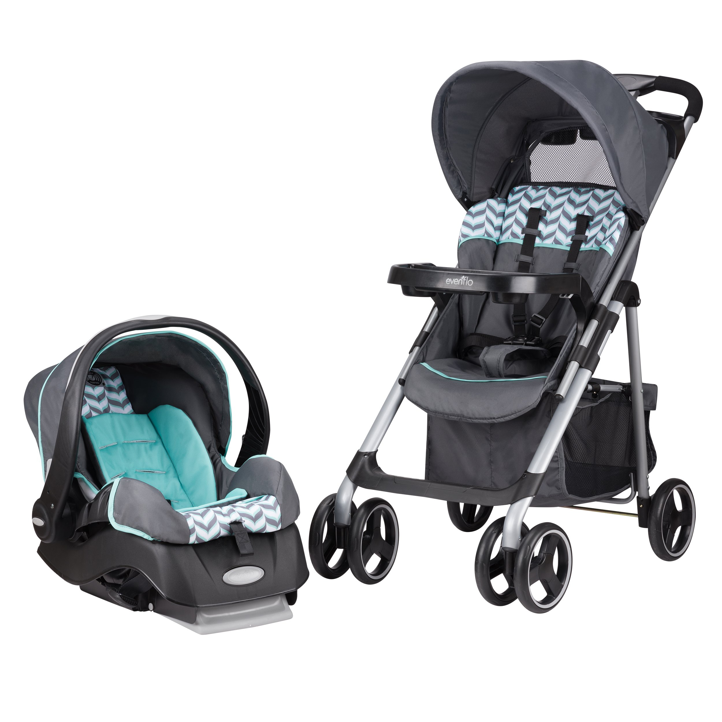 Evenflo Vive Travel System with Embrace, Spearmint Spree by Evenflo (Image #17)