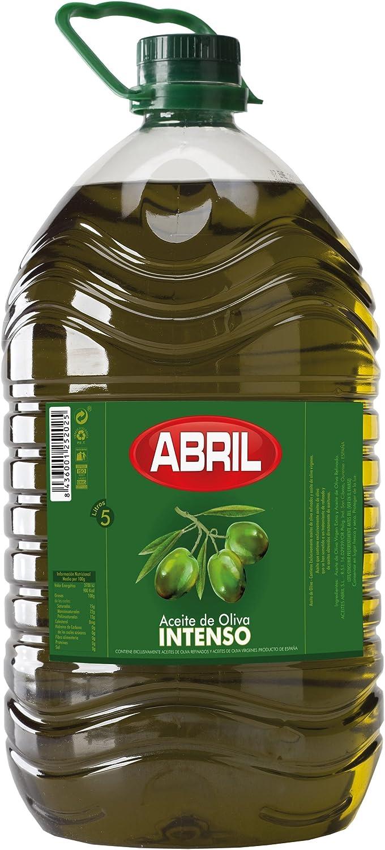 Aceite Oliva Intenso Abril Pet 5 Litros: Amazon.es: Alimentación y ...