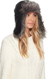c4aa495aabd84 UGG Women s Pom Waterproof Sheepskin Hat Slate Curly One Size at ...
