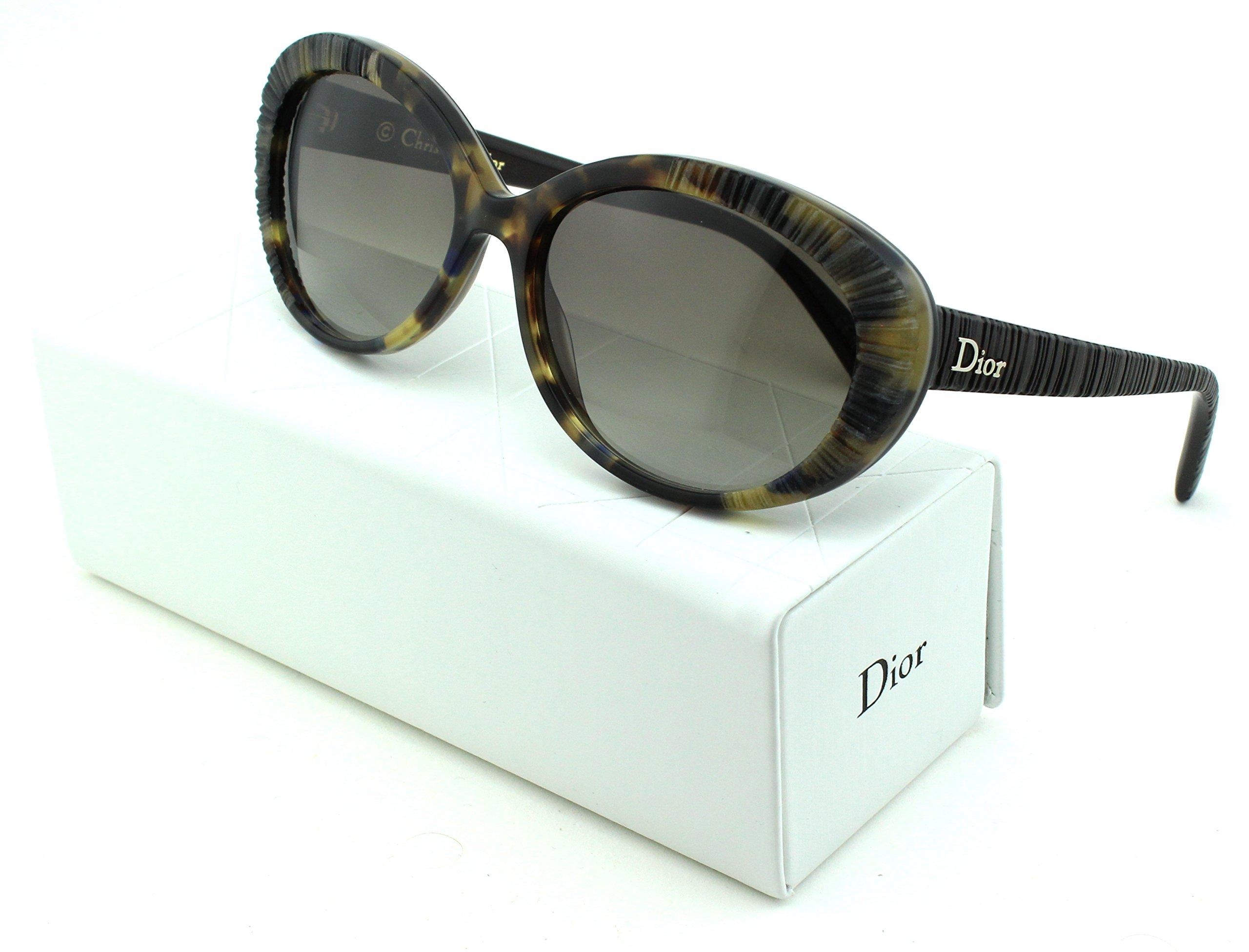 Dior Taffetas 3 Cateye Women Sunglasses (Havana Brown Frame, Brown Gradient Lens (02FW))