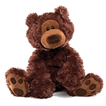 Gund 320046 - Philbin, oso de peluche (33 cm), color marrón