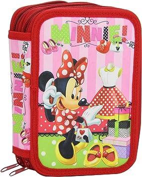 Minnie Mouse - Estuche, 2 pisos (Kids Euroswan DI1380): Amazon.es: Juguetes y juegos