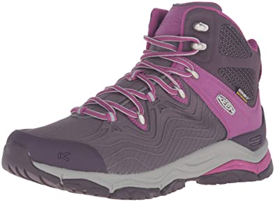 KEEN Womens Aphlex Mid Waterproof Boot       Plum Shark