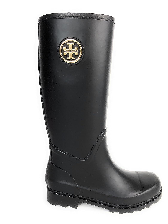 50760ae1534735 Tory Burch Sarah Rainboot Women s Shoes Boots Black 001 (8)