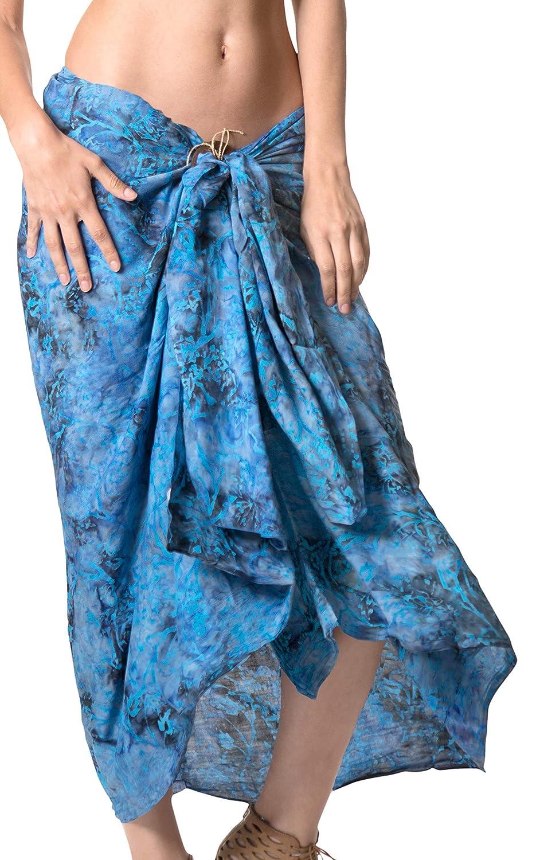 d6f73d27ba Sports & Outdoors Recreational Swimwear LA LEELA Rayon Resort Scarf Deal  Printed Dress Beach Sarong ...