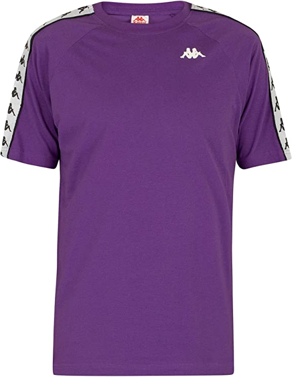 Kappa Coen Camiseta, Adultos Unisex, Violeta/Negro/Blanco, XL: Amazon.es: Deportes y aire libre