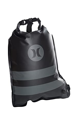 Hurley Wet Dry Elite Roll Top Cinch Sack Black/Black Qty: Amazon.es: Ropa y accesorios