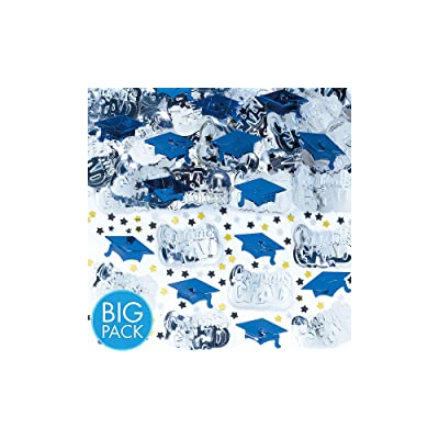 Amscan 368281.105 Confetti, 2 1/2oz, Bright Royal Blue: Kitchen & Dining