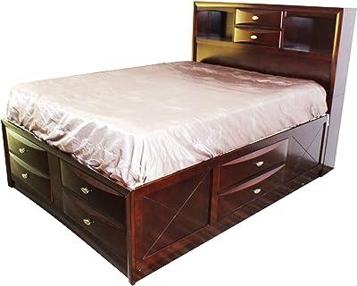 Amazon Com Furniture Of America Broadway Platform Bed