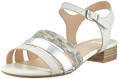 Caprice Damen 28101 Offene Sandalen mit Keilabsatz