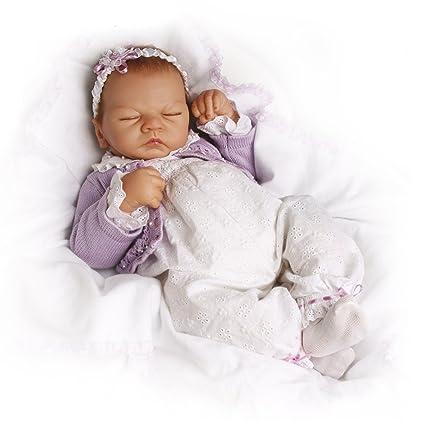 Ashton Drake - Emily dulces sueños - Muñeca bebé realista - Con respiración simulada - De