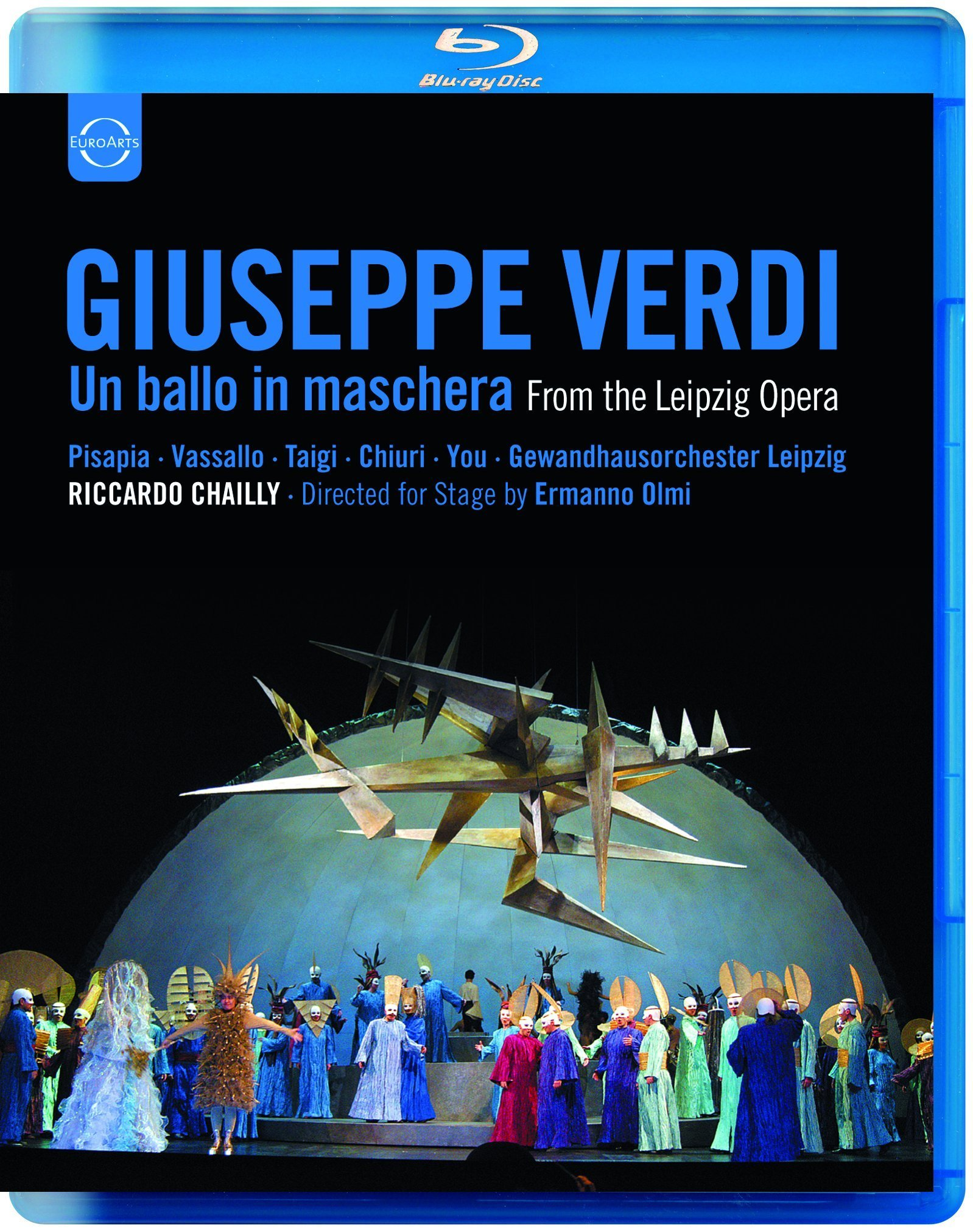 Riccardo Chailly - Un Ballo in Maschera (Blu-ray)