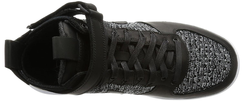wholesale dealer fa2b8 93156 Amazon.com   Nike Lunar Force 1 Flyknit Workboot Mens Boots c 855984 (8,  BLACK WHITE-WOLF GREY)   Fashion Sneakers