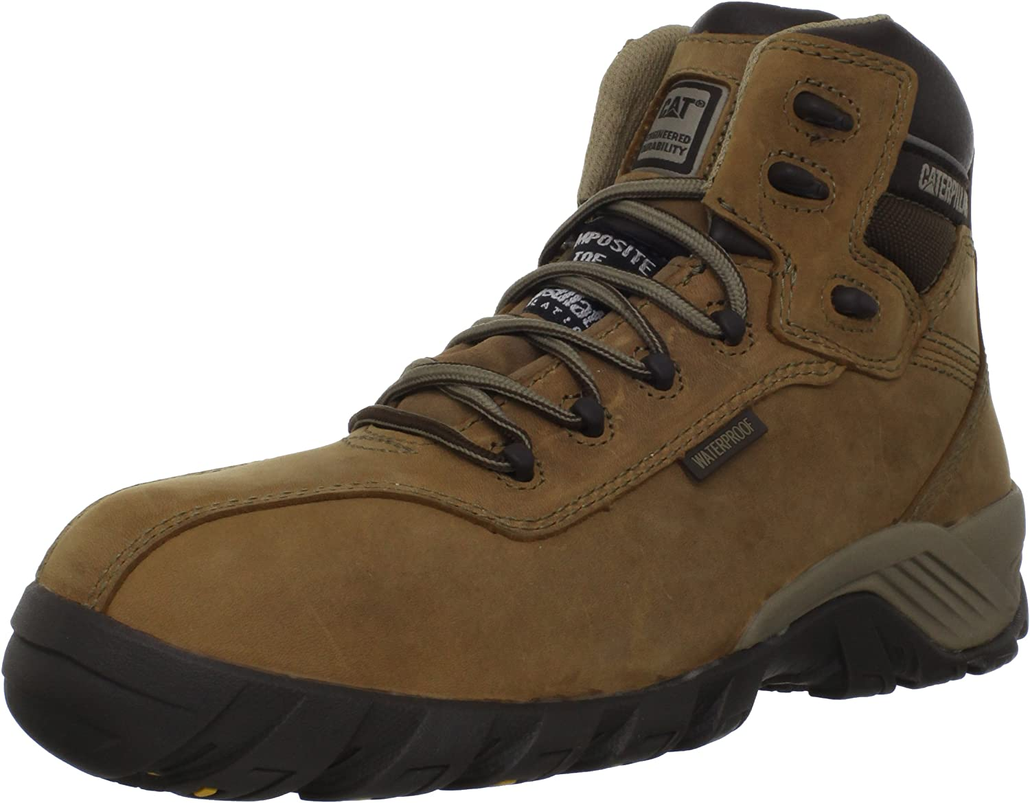 Caterpillar Women's Nitrogen Waterproof CT Work Boot