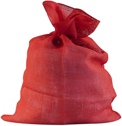 70 x 100cm Windhager /ÖKO 06070 Stoff rot Multifunktionaler Jutesack Kartoffel-Sack Deko-Beutel Winterschutz f/ür Topf-/& K/übelpflanzen Jute
