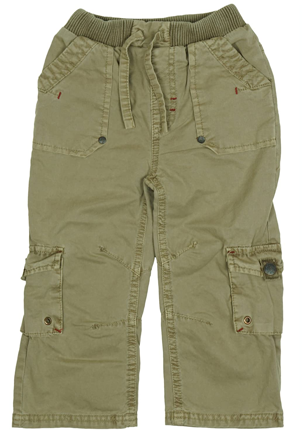 Girls Baby Toddler Chainstore Khaki Combat Pocket Trousers Sizes From Newborn To 24 Months