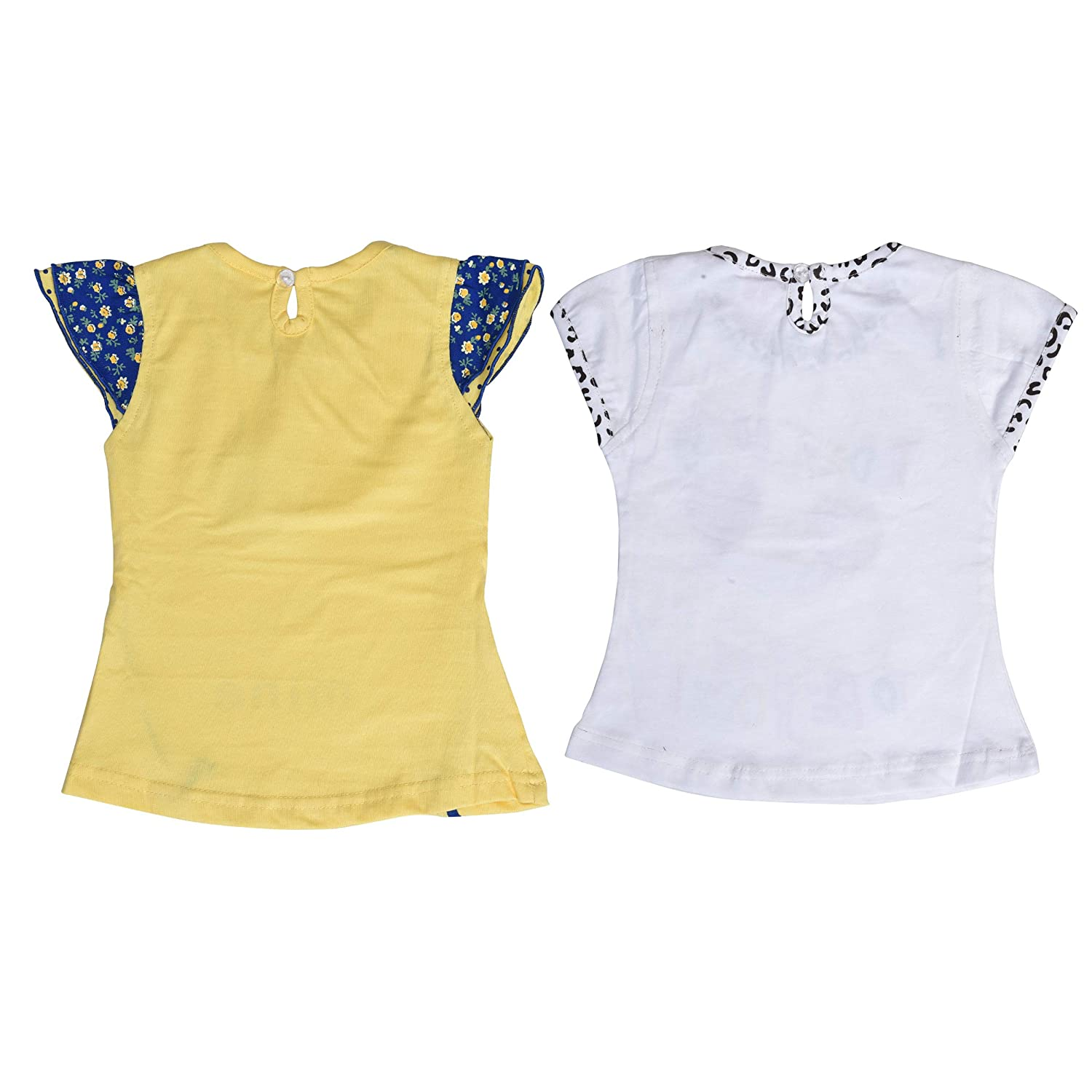 e5f27aeaab50 Roble Fashion Baby Girls Infant T-Shirt and Hot Pant Set for Kids 6 ...