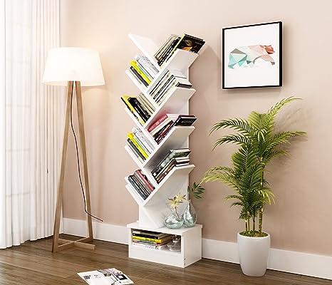 Vanimeu, scaffale a forma di albero, ideale per lo studio, libreria ...