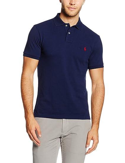Polo Ralph Lauren SS KC Slim Fit Polo Ppc, Homme  Amazon.fr  Vêtements et  accessoires fee5e31069c