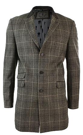 Veste manteau a carreau