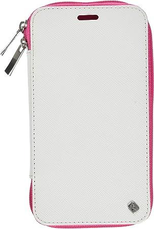 Telileo Carcasa 3651 Zip para Samsung Galaxy S5 Zara Rosa: Amazon.es: Electrónica
