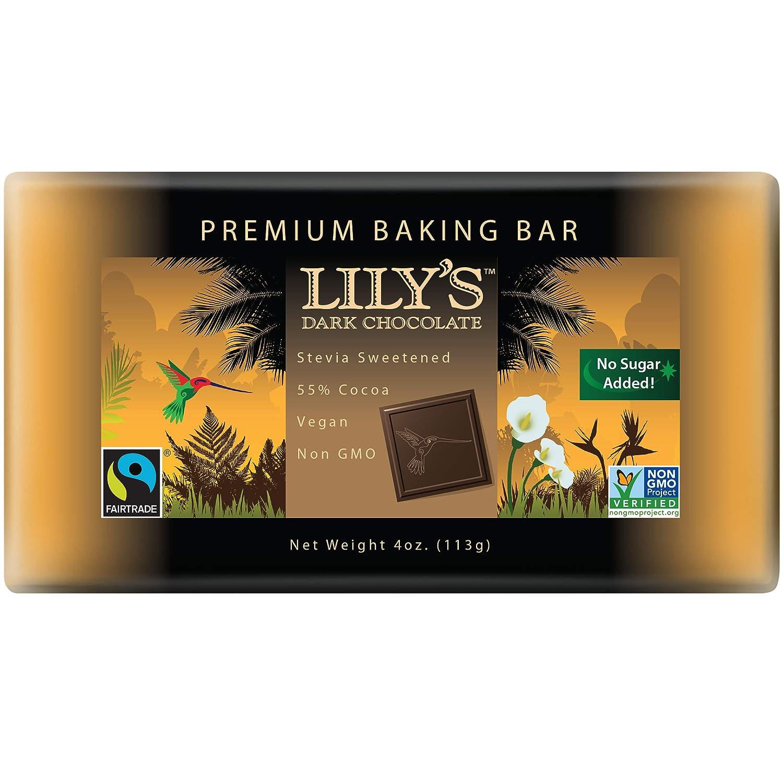 Amazon Premium Dark Chocolate Baking Bar