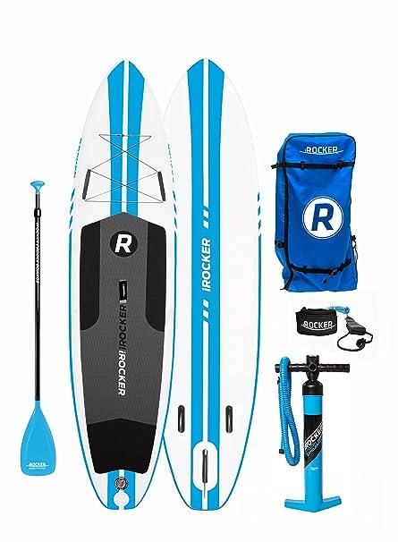 Paquete SUP de tabla de surf de remo hinchable iROCKER ALL-AROUND ...