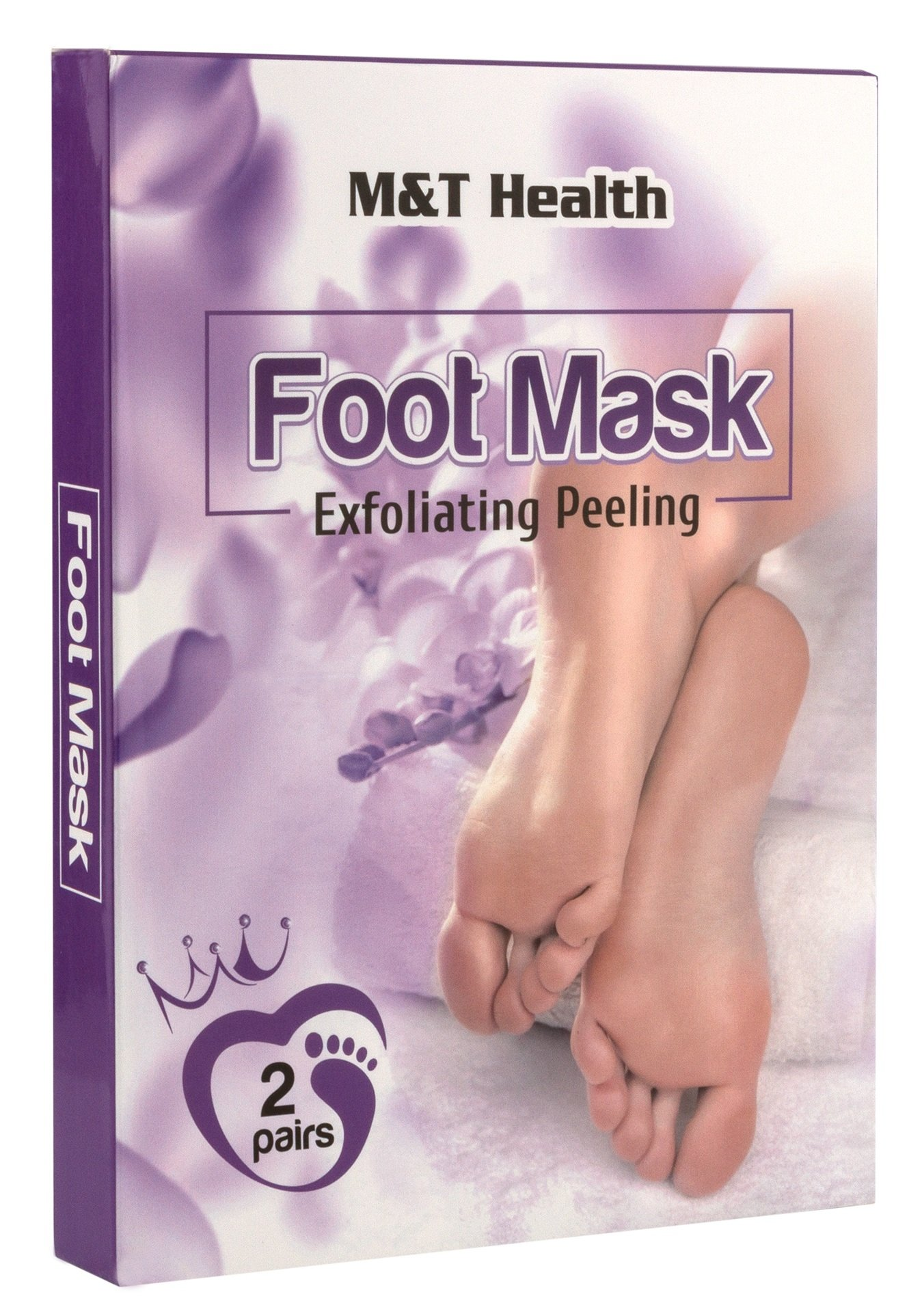 Foot Peel Mask Exfoliating Peeling – Soft & Smooth Just Like Baby Feet – Foot Exfoliation Peeling Mask – Soft Touch Foot Peel Mask Exfoliating Callus Remover for Women and Men 2 pack – Best Gift