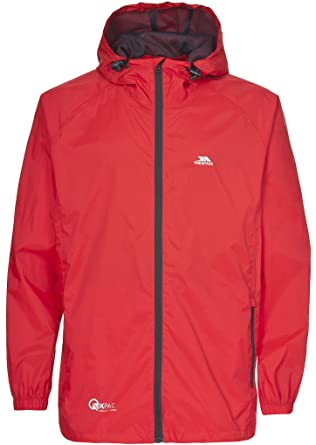 9d48eadce Trespass Qikpac Jacket, Grenadine, XXXL, Compact Packaway Waterproof Jacket  Adult Unisex, XXX-Large / 3X-Large / 3XL, Orange: Amazon.co.uk: Clothing