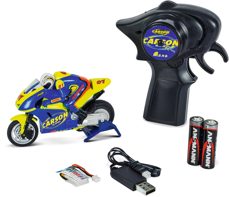 /Micro Bike 2.4/GHz Veh/ículo Carson 500404125/