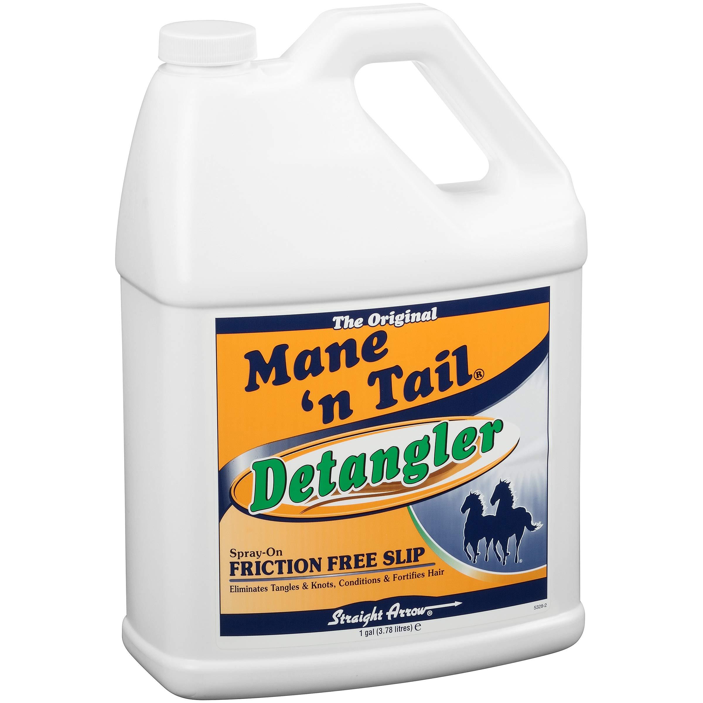 Mane 'n Tail Detangler ElIMINATES TANGLES & KNOTS Refill Gallon