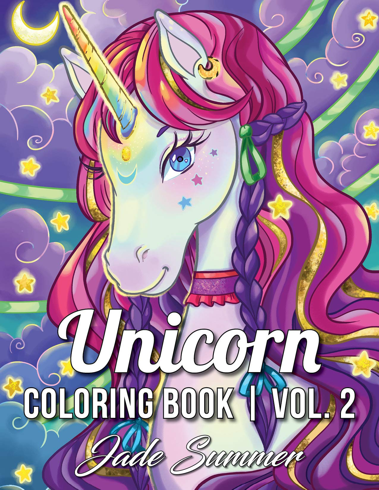 Unicorn Coloring Book: A Fantasy Coloring Book with Magical