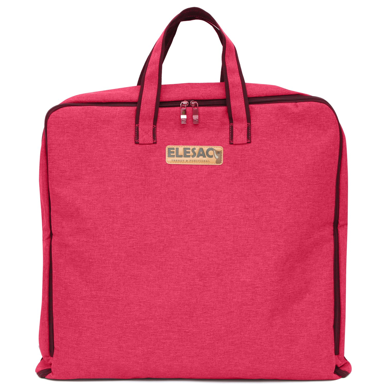 ELESAC Foldable Garment Bag,Clothing Suit Dance w/Pockets,for Business Travel