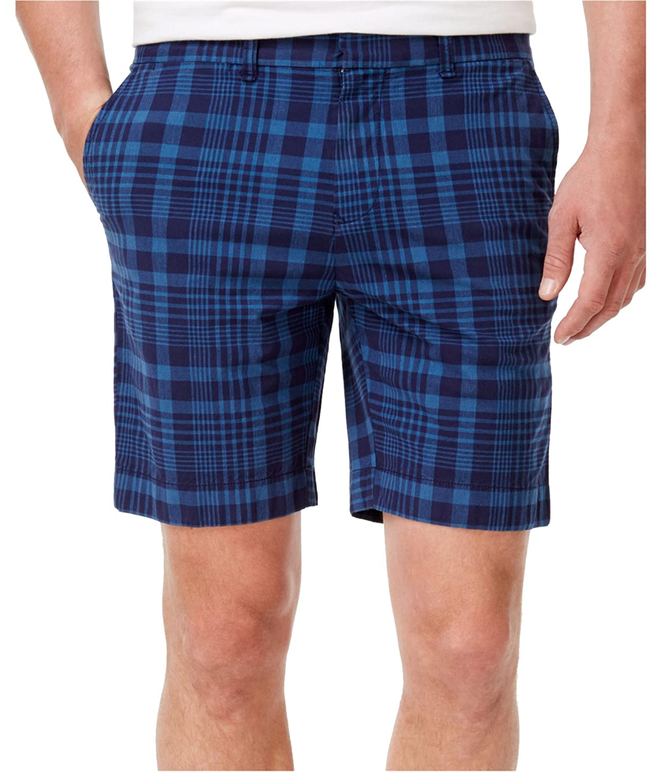 Tommy Hilfiger Men's Matthew Plaid Shorts 78A6597