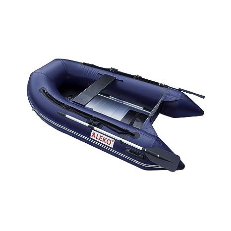 ALEKO® 8.4 Ft Azul inflable barco con diseño de suelo pesado ...