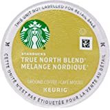 Starbucks True North Coffee (Previously Known as Veranda Blend), K-Cup Portion Pack for Keurig Brewers