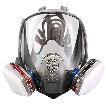 Amazon.com: Holulo - Máscara de seguridad reutilizable de ...