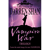 "Vampire War Trilogy (The Saga of Darren Shan): ""Hunters of the Dusk"", ""Allies of the Night"", ""Killers of the Dawn"""