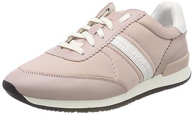 HUGO Damen Uptown Asya-L Slip on Sneaker, Weiß (White 100), 39 EU