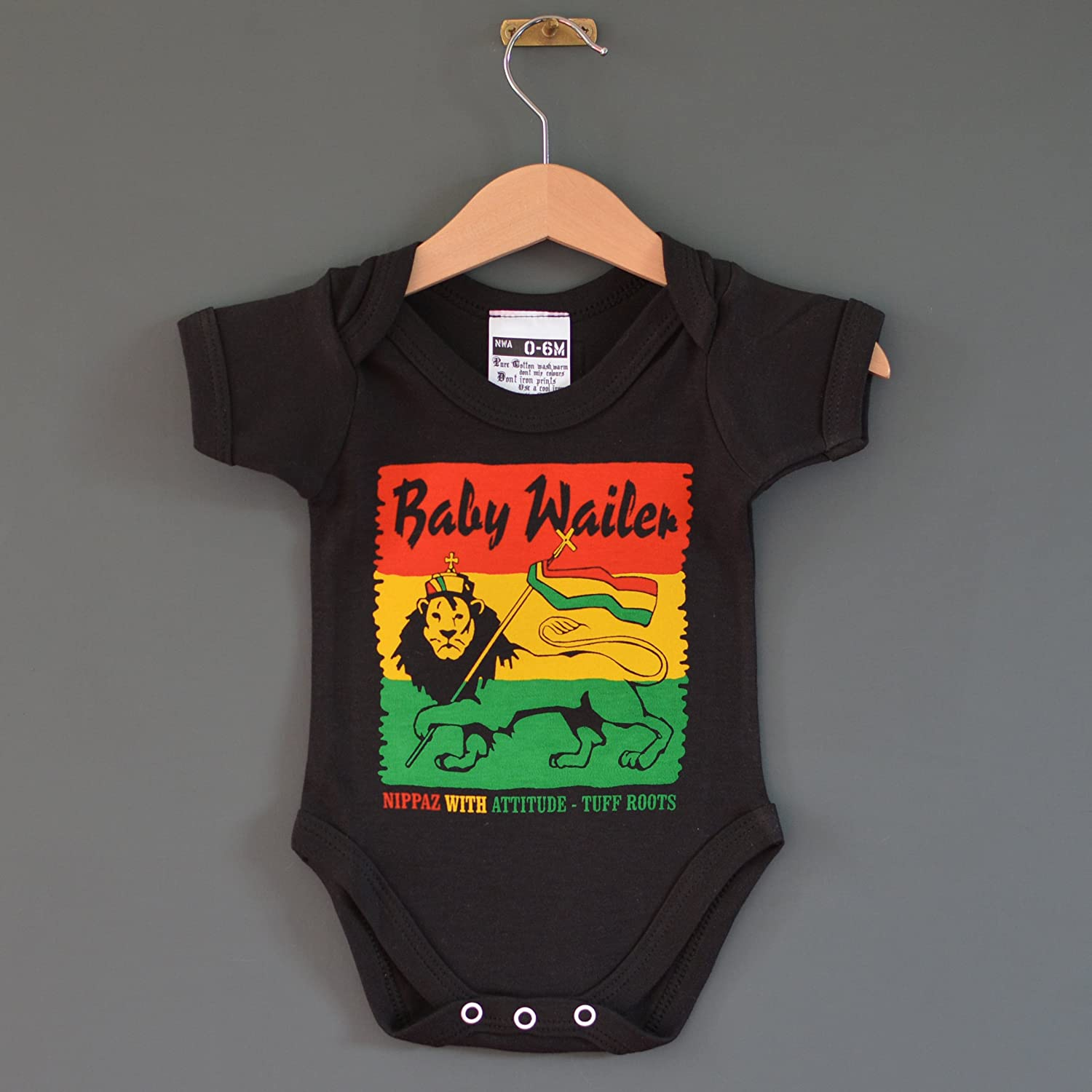 Baby Wailer Reggae Baby Grow For babies aged 6 12 months Amazon