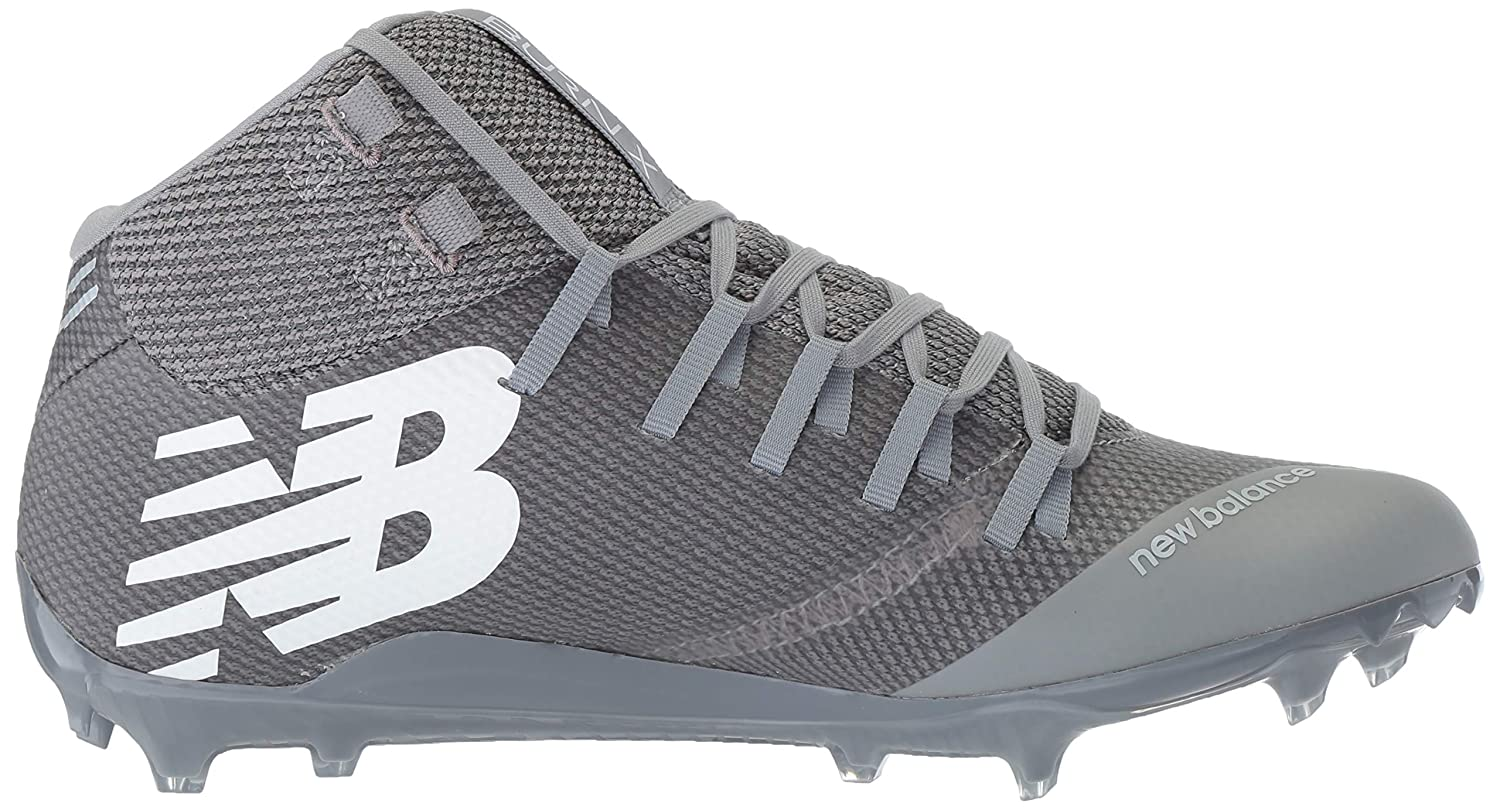 New Balance Men's Burn X 1 Speed Lacrosse schuhe grau, grau, schuhe 5.5 D US 7ecb3e