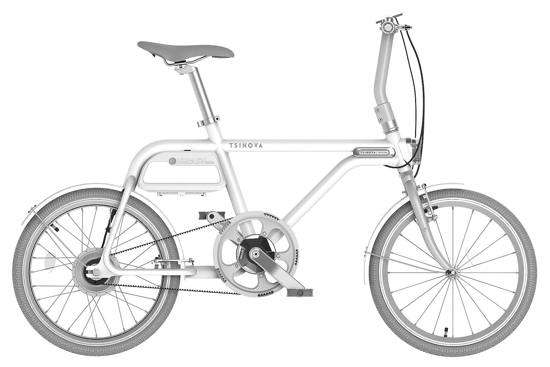 チノーバ(Tsinova) TS01 スマート 電動アシスト自転車 20インチ 【型式認定試験合格済 ベルトドライブ 5.8Ahリチウムイオンバッテリー搭載 Bluetooth スマートフォン連動】 AR-TN20TS B07B9BL9ZB 白磁 白磁