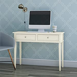 Ameriwood Home Franklin Writing Desk, Soft White