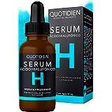 Serum Ácido Hialurónico Facial+Vitamina B5+Extracto de Bulbo de Azafrán-99% Ingredientes Naturales-Hidratación Intensa-Reafir