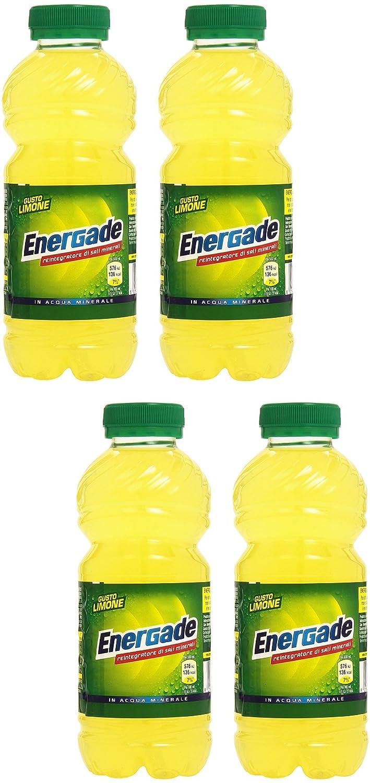 Amazon.com : Energade: Mineral Salt Supplement Lemon Taste Beverage 50cl (16.9oz) Pack of 4 [ Italian Import ] : Grocery & Gourmet Food