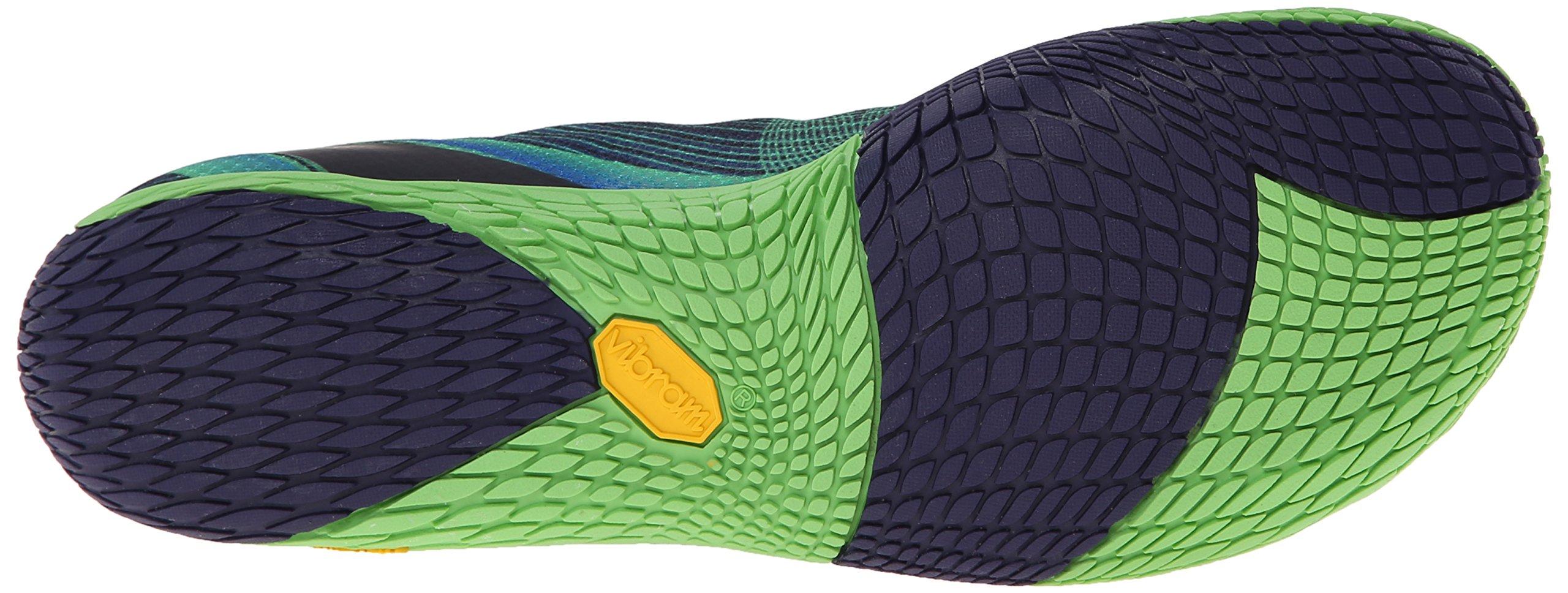 Merrell Men's Vapor Glove 2 Trail Running Shoe, Racer Blue/Bright Green, 9.5 M US by Merrell (Image #3)