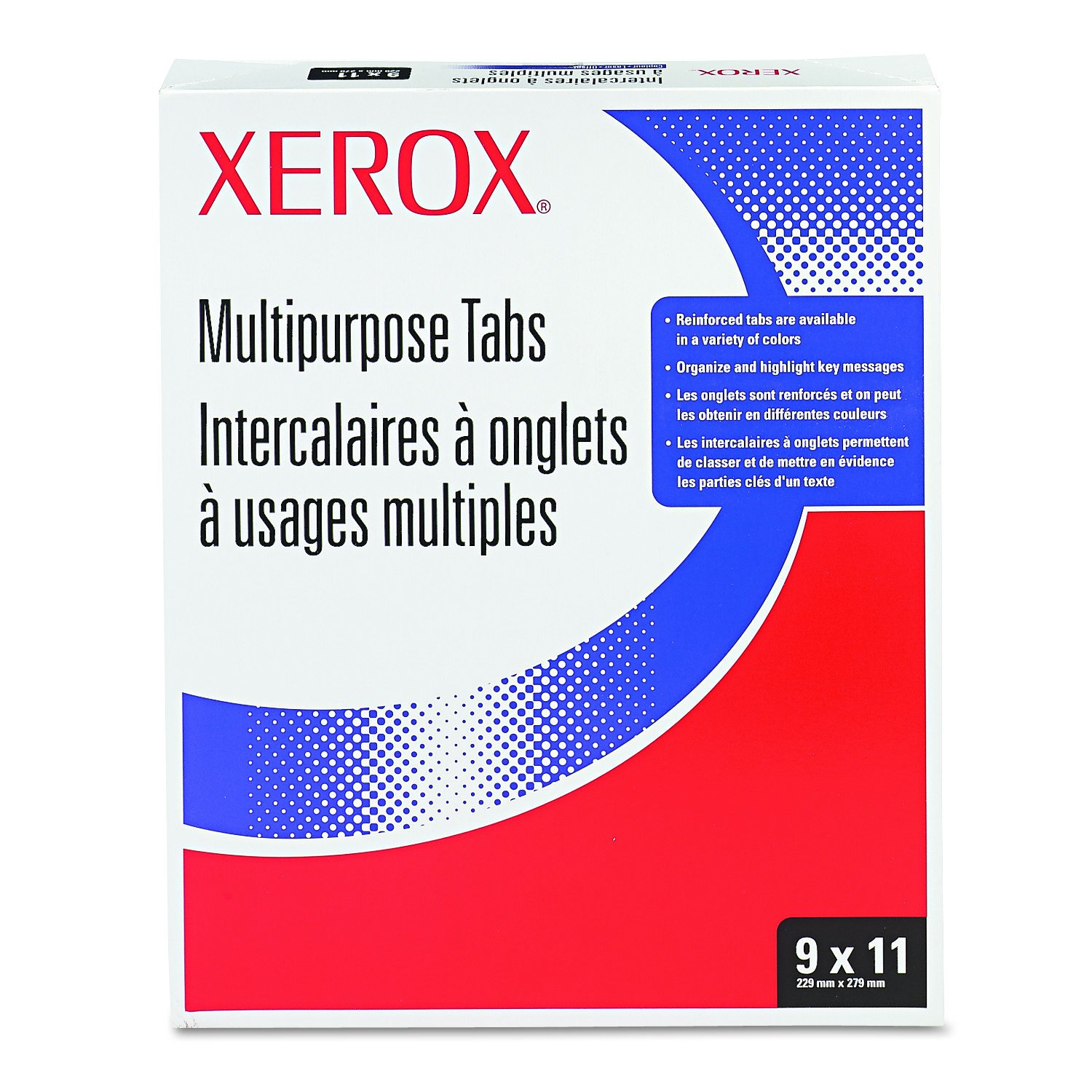 Xerox 3R4416 Single Reverse Collated Index Dividers For Docutech & Docucolor, 250 Per Pack XER3R04416